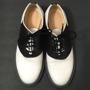 Band Of Outsiders Womans White Derby Shoes